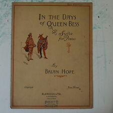 piano solo BRIAN HOPE in the days of queen bess