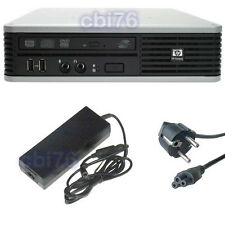 Mini PC HP dc7800 USFF Core 2 duo E5200 2,5GHZ 2GO 120 GO SSD *NEUF* Windows 7