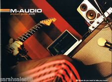 M-AUDIO Product Guide 2005, Seal, Sasha, Gerry Leonard, Guitar Interfaces Ozone