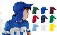KIDS Legionnaire Sun Cap Hat Kids Junior Childs Children B11B - 18 mths - 4 yrs