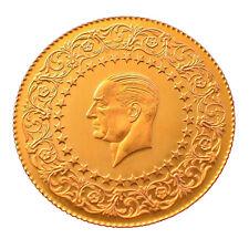 Türkische Goldmünze 100 Piaster Kurush Türkei Atatürk 2016er Tam Altin Ohne Öse