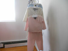 ELIE TAHARI 100% Cashmere Baby Boys Girls Kids  2 pieces Outfit Pink  SZ  6-9 M