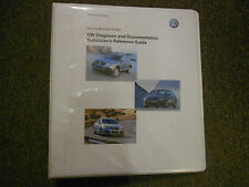 2000s VW Diagnosis & Documentation Technicians Reference Guide Manual FACTORY