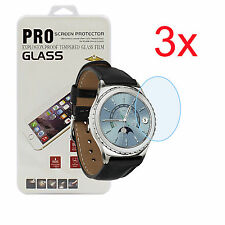 3x Gorilla Glass Screen Protector For SAMSUNG GALAXY GEAR S2 CLASSIC R732 R735