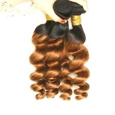 8A 400g/4bundles Unprocessed Ombre 1b/30 Brazillian Loose Wave Human Hair