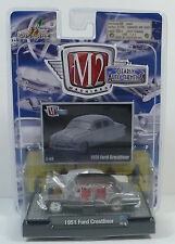M2 Machines (2008) Clearly Auto-Thentics 1:64 Scale Car - 1951 Ford Crestliner