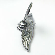 For Buick High Quality 3D Car Hood Emblem Badge Metal Silver with Wing