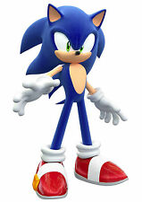 SONIC THE HEDGEHOG SEGA Photo Poster Print Wall Art A4 260gsm