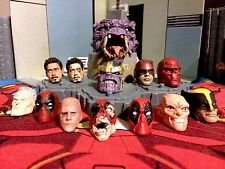 Marvel Legends/Select head cast painting service's (per 1 head)