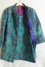 Ladies True Vintage Carnaby Street Dress & Matching Coat Suit Size 6-8