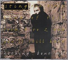 Sting - Nothing 'Bout Me **1994 UK 4 Track CD Single** Rare Remixes