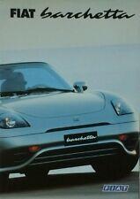 FIAT BARCHETTA BROCHURE-Luglio 1997 13M luglio 97. A1202