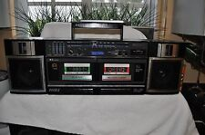 Vintage Sony Boombox Ghettoblaster (everything works perfect)