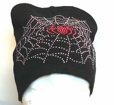New Beanie Men Women Hat Soft Knit Spider Web Ski Cap Warm Winter Cuff Unisex