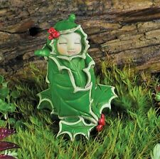 Miniature Fairy Garden Holly Flower Bud Baby - Buy Three Save $5.00