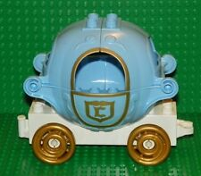 LEGO - Duplo Carriage - Curved with Gold Disney Princess Cinderella Pattern