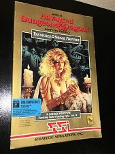 SSI Advanced Dungeons & Dragons TREASURES OF THE SAVAGE FRONTIER 1992 PC RPG D&D