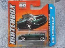 Matchbox 2013 #065/120 BMW MINI COOPER S CABRIO green MBX ADVENTURE CITY