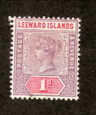 Leeward Islands--#2 MH--Queen Victoria--1890