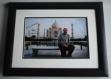 Karl Pilkington SIGNED FRAMED Photo Autograph 16x12 LARGE display Idiot Abroad