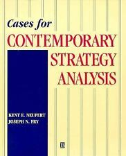 Cases For Contemporary Strategy Analysis