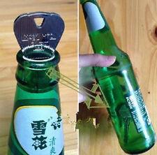 Schlüssel in Weinflasche Durchgehen Zauber Trick Stütze