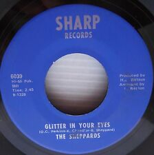 SHEPPARDS Glitter in your eyes WHAT's the name of the game DOOWOP Sharp 45 e4318