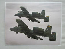 DOCUMENT RECTO/VERSO GRUMMAN A-10 THUNDERBOLT II GATLING GUN ANTI TANK