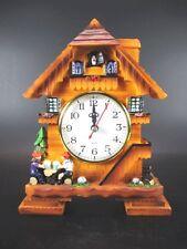 Kuckucksuhr Clock Schwarzwald Uhr 20 cm ! zum Hinstellen,Souvenir Germany