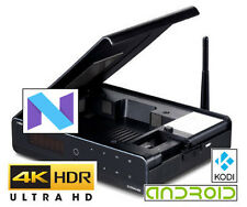 "HiMedia Q10 Pro Android 7 ""nougat"" Ultra-hd 4K60 hdr 3.5"" disque dur Android Kodi box"