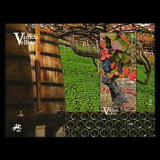 Portugal 2016 - Old Vineyards of Portugal Foot Gastronomy S/S - MNH