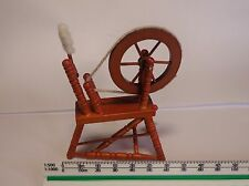 1/12 Scale wooden Spinning Wheel, Dolls House Miniature