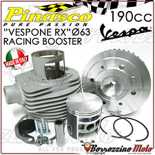 """GRUPPO TERMICO PINASCO """"VESPONE RX"""" CILINDRO RACING BOOSTER 190cc VESPA PX 150"""