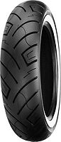 SHINKO 777 130/90-16 WIDE 67H WHITE-WALL TYRE FRONT (MT90) SUIT HARLEY OR CUSTOM