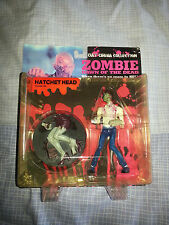 DAWN OF THE DEAD ZOMBIE HORROR FIGURE HATCHET HEAD NEW