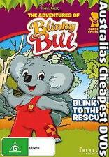 Blinky Bill To The Rescue DVD NEW, FREE POSTAGE WITHIN AUSTRALIA REGION ALL