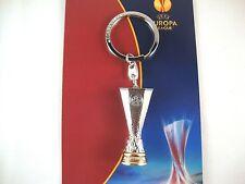 """UEFA Europa League tm """"Pokal 3D"""" 45mm Schlüsselanhänger EL FC Sevilla Liverpool"""