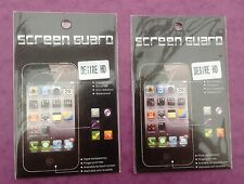 HTC DESIRE HD  LCD CLEAR ANTI GLARE SCREEN PROTECTOR COVER GUARD BRAND NEW QTY=2