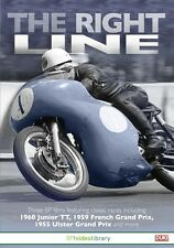 The Right Line (New DVD) 1960 Junior TT 1959 French GP 1955 Ulster GP Motorcycle