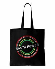 Rasta Power Reggae Cotton Shoulder Bag - Bob Marley Rastafarian