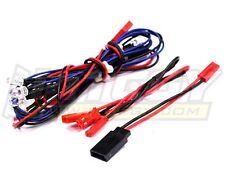 LED Light Set System for 1/10 Touring Car (6V) 4 Blue & 2 Red LEDs