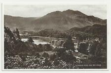 "Valentine's ""Photo Brown"" Postcard, Trossachs Hotel and Ben Venue"
