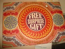 Old Vintage Free Surprise Gift Post Card from India 1978