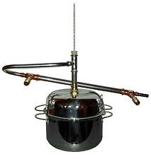 DESTILLIERMEISTER ECCO-H5- 5 Litre le silencieux en acier inoxydable avec Casque