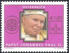 Austria 2005 Pope John Paul II/People/Religion 1v (n23218)