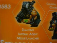 Infinity Zhanying Imperial Agent Missile Launcher Yu Jing metal new