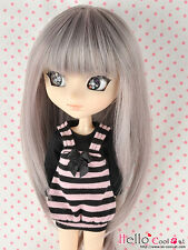 "【HT-02CS】Pullip Taeyang DAL 8.0~9.5"" HP Wigs # Brown Violet Mix Grey"