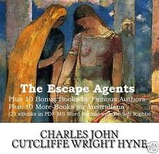 CD - Charles Hyne - The Escape Agents - 21 eBooks (Resell Rights)