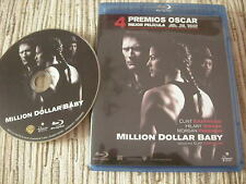BLU RAY BLURAY PELICULA MILLION DOLAR BABY CLINT EASTWOOD USADO BUEN ESTADO
