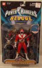 "Power Rangers Lightspeed Rescue - 5"" Rescue Armor Red Ranger Figure Bandai (MOC)"